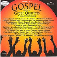 Gospel Sung by the Great Quartets - Vol 1 — сборник
