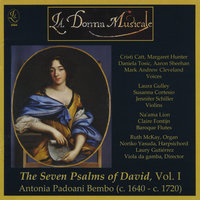 Antonia Bembo's The Seven Psalms of David, Vol. 1 — La Donna Musicale