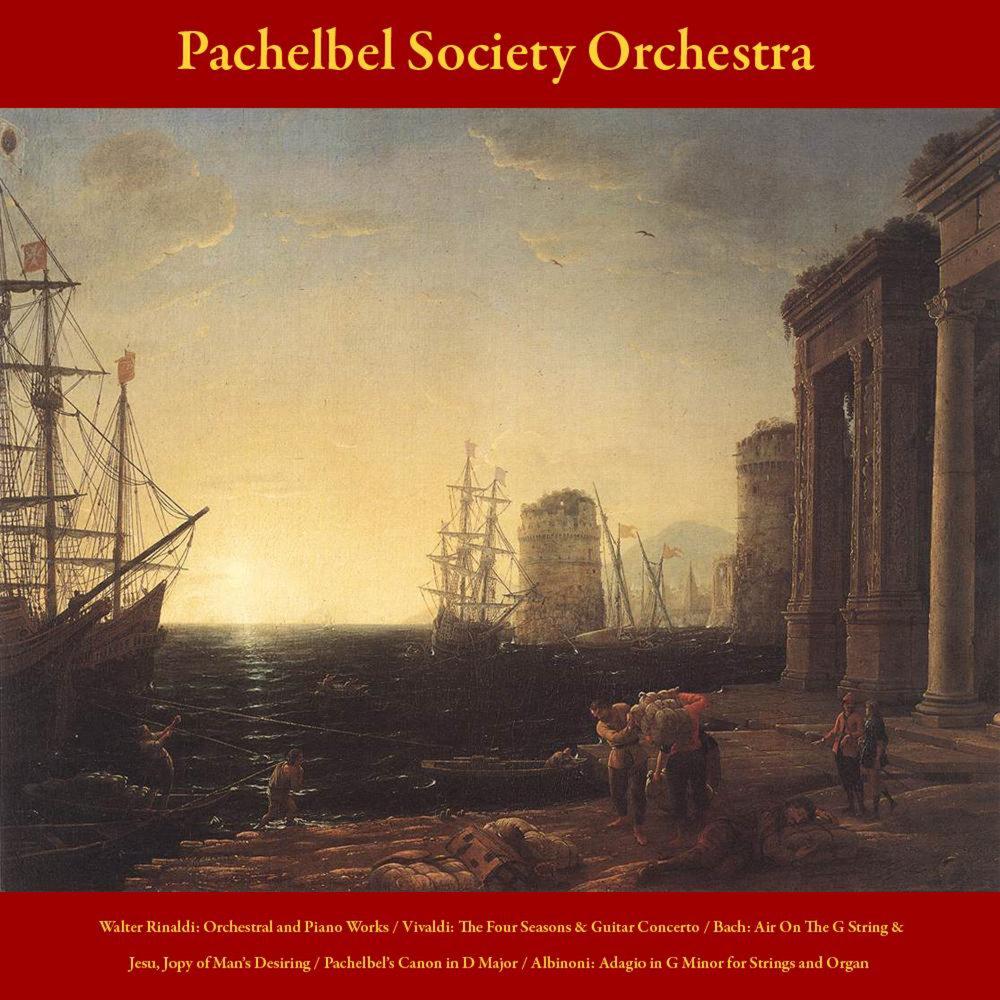 Walter Rinaldi: Orchestral and Piano Works - Vivaldi: the