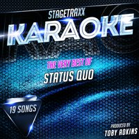 Stagetraxx Karaoke : The Very Best of Status Quo — Toby Adkins