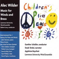 Music for Winds and Brass — Lawrence University Wind Ensemble, Gunther Schuller, Robert Levy