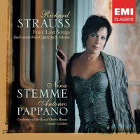 Strauss: Four Last Songs; Final Scenes — Orchestra of the Royal Opera House, Covent Garden, Nina Stemme, Antonio Pappano, Orchestra Of The Royal Opera House, Covent Garden, Рихард Штраус