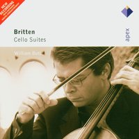 Britten: Cello Suites — Бенджамин Бриттен, William Butt