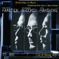 Directions in Music: Live At Massey Hall — Herbie Hancock, Michael Brecker, Roy Hargrove