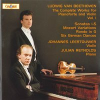 The Complete Works for Pianoforte and Violin Vol 1 — Johannes Leertouwer, Julian Reynolds