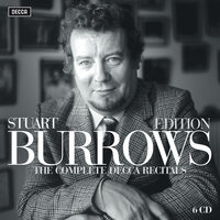 Stuart Burrows Edition - The Complete Decca Recitals — Stuart Burrows