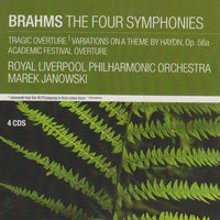 Brahms: The Four Symphonies; Tragic Overture; Variations on a Theme by Haydn, Op.56a; Academic Festival Overture — Marek Janowski, Royal Liverpool Philharmonic Orchestra