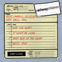 Nicky Campbell Session (18th April 1990) — The Railway Children