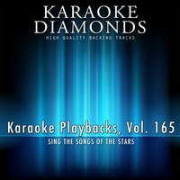 Karaoke Playbacks, Vol. 165 — Karaoke Diamonds