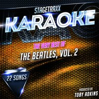 Stagetraxx Karaoke: The Very Best of The Beatles, Vol. 2 — Toby Adkins
