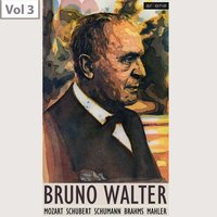 Bruno Walter, Vol. 3 — New York Philharmonic Orchestra, Irmgard Seefried, George London, Westminster Choir, Bruno Walter, New York Philharmonic Orchestra,Westminster Choir, Bruno Walter, Irmgard Seefried, George London, Иоганнес Брамс