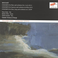 Mozart: Flute Concerto No.1; Bassoon Concerto; Concerto for Flute & Harp — Thierry Fischer, Matthew Wilkie, Charlotte Sprenkels, Chamber Orchestra Of Europe, Vegh Quartet