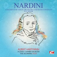 Nardini: Concerto for Violin, Orchestra and Basso Continuo in E Minor — Pietro Nardini