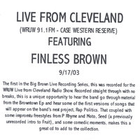 Live from Cleveland @ WRUW — Finless Brown