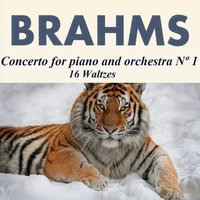 Brahms - Concerto for piano and orchestra Nº 1 - 16 Waltzes — Иоганнес Брамс, Eduardo Marturet, Karin Lechner, Berliner Symphoniker