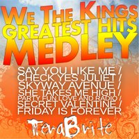 We the Kings Greatest Hits Medley: Say You Like Me / Check Yes Juliet / Skyway Avenue / She Takes Me High / Party Fun Love and Radio / Secret Valentine / Friday Is Forever — Terabrite