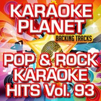 Pop & Rock Karaoke Hits, Vol. 93 — A-Type Player