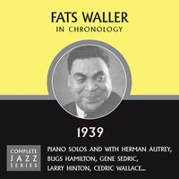 Complete Jazz Series 1939 — Fats Waller
