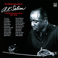 The Modern Sounds Of A.K. Salim Complete Savoy Recordings 1957-1958 — A.K. Salim