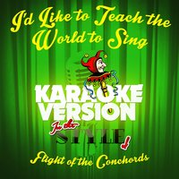 I'd Like to Teach the World to Sing (In the Style of Nowaysis) - Single — Ameritz Audio Karaoke