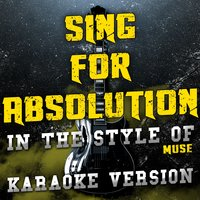 Sing for Absolution (In the Style of Muse) - Single — Ameritz Audio Karaoke