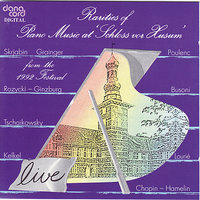 Rarities of Piano Music 1992: Live Recordings from the Husum Festival — сборник