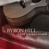 Red Leather Couch — Byron Hill