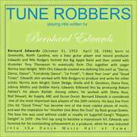 Tune Robbers Playing Hits Written by Bernhard Edwards — Tune Robbers, The World-Band, Tune Robbers & The Colored Music