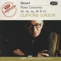Mozart: Piano Concertos Nos.20,23,24,26 & 27 — Sir Clifford Curzon, English Chamber Orchestra, Бенджамин Бриттен, London Symphony Orchestra (LSO), István Kertész