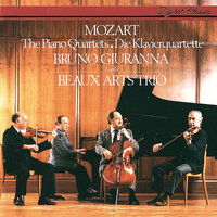 Mozart: Piano Quartets Nos. 1 & 2 — Beaux Arts Trio, Bruno Giuranna