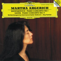Shostakovich: Concerto For Piano, Trumpet And String Orchestra, Op. 35 / Haydn: Concerto For Piano And Orchestra In D Major, Hob. XVIII:11 — Martha Argerich, Jörg Faerber, Württembergisches Kammerorchester Heilbronn, Guy Touvron
