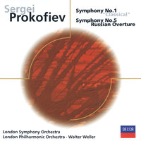 Prokofiev: Symphonies Nos. 1 & 5, Russian Overture — London Symphony Orchestra, London Philharmonic Orchestra, Walter Weller
