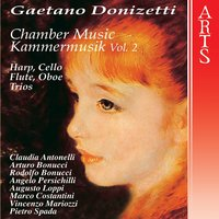 Donizetti: Chamber Music, Vol. 2 — Гаэтано Доницетти, Pietro Spada, Angelo Persichilli, Claudia Antonelli, Arturo Bonucci, Augusto Loppi, Vincenzo Mariozzi