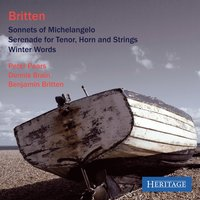 Britten: Song Cycles — Peter Pears