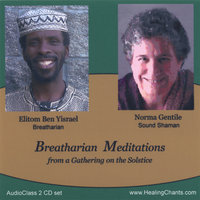 Breatharian Meditations - An Audioclass 2 CD Set — Elitom Ben Yisrael, Breatharian And Norma Gentile, Sound Shaman