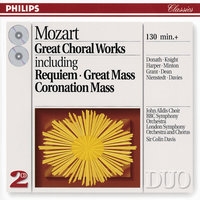 Mozart: Great Choral Works — London Symphony Orchestra (LSO), BBC Symphony Orchestra, Sir Colin Davis, London Symphony Chorus, The John Alldis Choir