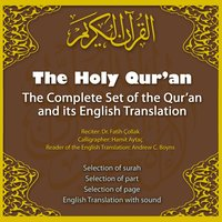The Holy Qur'an the Complete Set of the Qur'an and Its English Translation — Andrew C.Boyns