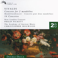 Vivaldi: 14 Concertos (for Mandolin, Flute, Trumpet, Violin,  etc.) — Joshua Rifkin, Philip Pickett, Christopher Hogwood, The Bach Ensemble, The Academy of Ancient Music