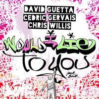 Would I Lie To You — David Guetta, Cedric Gervais, Chris Willis