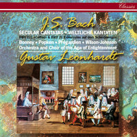 "J.S. Bach: Secular Cantatas Nos. 211 ""Coffee"" & 213 — Barbara Bonney, Gustav Leonhardt, David Wilson-Johnson, Orchestra Of The Age Of Enlightenment, Christoph Pregardien, Choir Of The Age Of Enlightenment"
