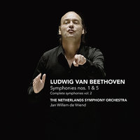 Beethoven: Symponies nos. 1&5 - Complete symphonies vol. 2 — Jan Willem de Vriend, The Netherlands Symphony Orchestra, Людвиг ван Бетховен