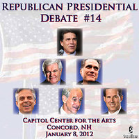 Republican Presidential Debate #14 - Capitol Center For The Arts, Concord, NH (January 8, 2012) — Various Republican Presidential Candidates