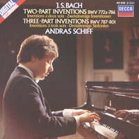 Bach, J.S.: Two and Three Part Inventions — András Schiff