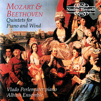 Beethoven & Mozart: Quintets and Wind — Людвиг ван Бетховен, Vlado Perlemuter, The Albion Ensemble