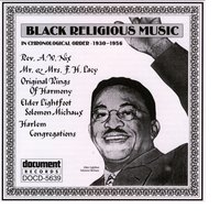 Black Religious Music (1930-1956) — Various Artists - Document Records