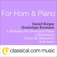 Charles Gounod, 6 Melodies For Horn And Piano — Daniel Borgue & Dominique Kormann