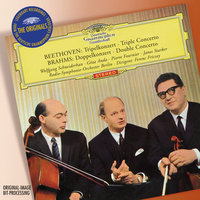 Beethoven: Triple Concerto / Brahms: Double Concerto — Ferenc Fricsay, Ferenc Fricsay [Conductor]