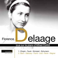 Sur le piano d'Alfred Cortot — Роберт Шуман, Florence Delaage