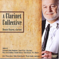 A Clarinet Collective — Клод Дебюсси, Вольфганг Амадей Моцарт, Jerry Wong, Kent Kennan, Wayne Gorder, Gallois Montbrun Ensemble, Mary Ann Griebling, Mozart Ensemble