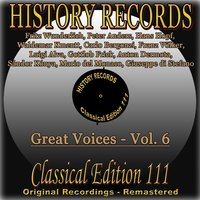 History Records - Classical Edition 111 - Great Voices - Vol. 6 — сборник